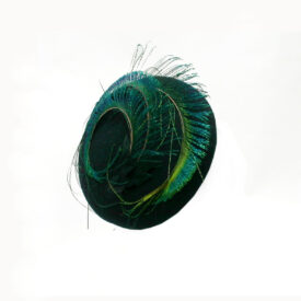 HF055A_Susie_Navy_felt feather_pillbox_beret_r