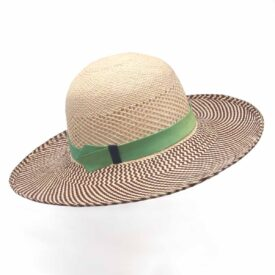 Hennumi_HS007_Adanna_SUNHAT_Cream-brown Green_TopRight003